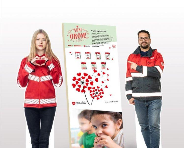 Az Adni öröm! akcióban idén adománykártyákkal segíthetnek a vásárlók