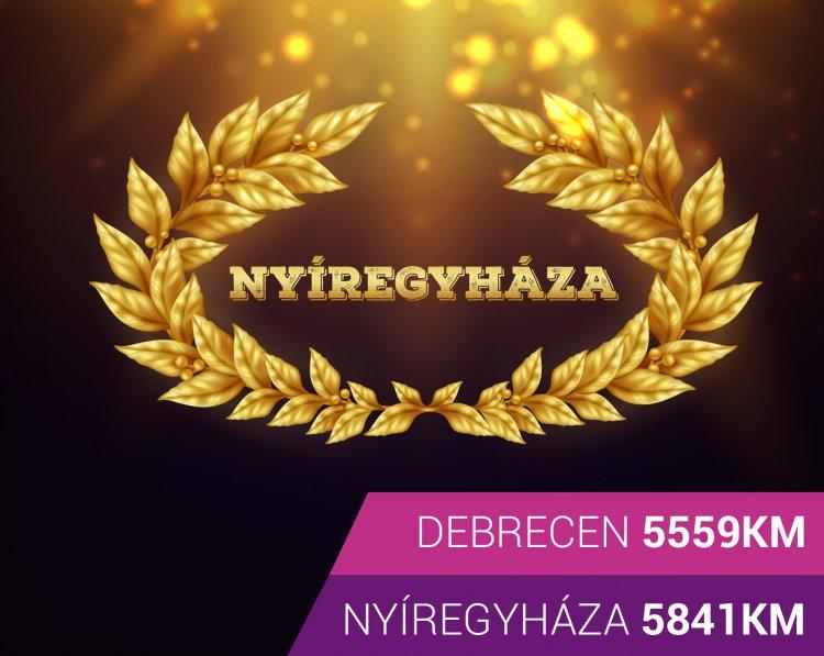 Versenyezz a városért, fuss az egészségedért: Nyíregyháza Debrecen versenyfutás