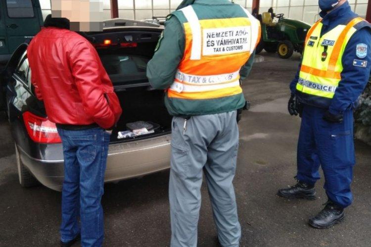 Közös ellenőrzést tartottak Nyírbátor környékén a rendőrök  és pénzügyőrök