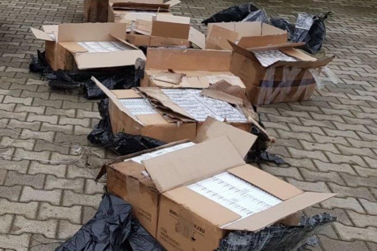 Csempészett cigarettát szállított, a barabási rendőrök elfogták