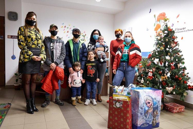 Karácsony a Nyíregyházi Család- és Gyermekjóléti Központ családjai körében