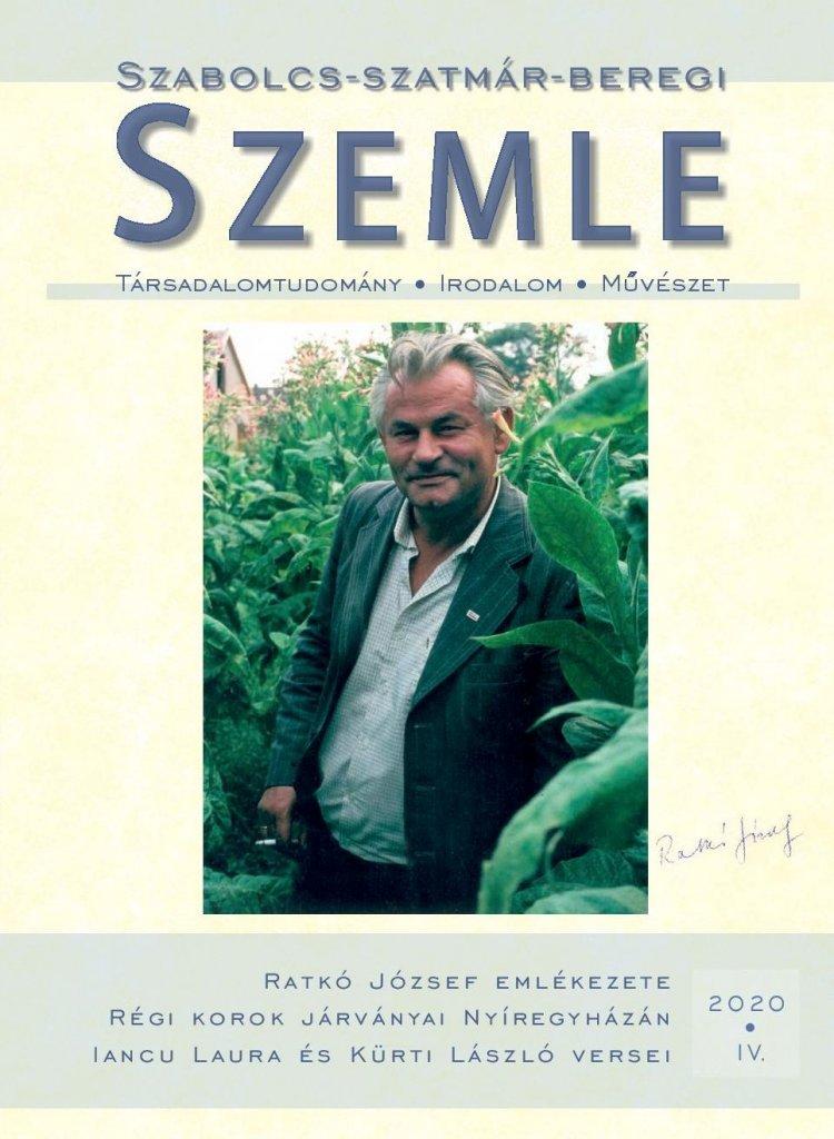 Ratkó József emlékezete a friss Szabolcs-Szatmár-Beregi Szemlében