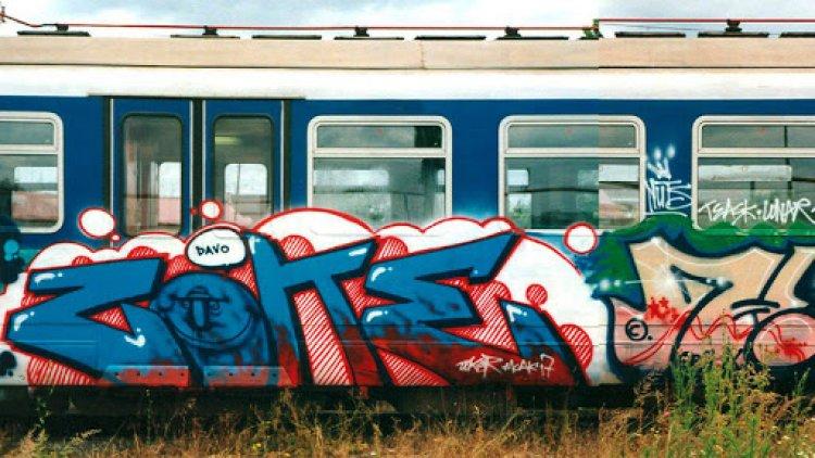Egy műremek árát költi graffitikre a MÁV