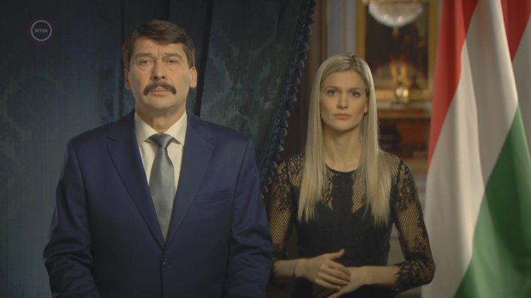 Áder János köztársasági elnök újévi köszöntő beszéde