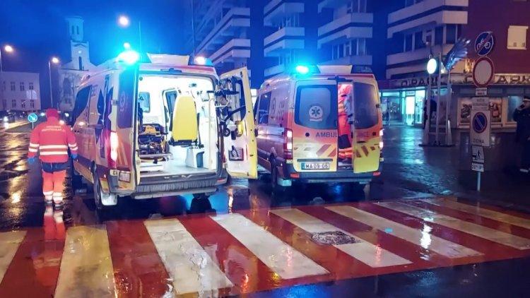 Súlyos sérülés – Terepjáró gázolt el egy férfit az Országzászló téri gyalogátkelőhelyen