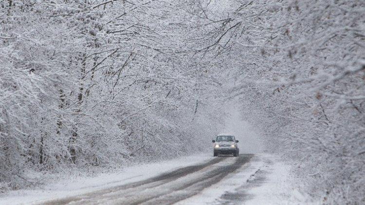 Akár öt centiméter hó is hullhat az ország egyes területein