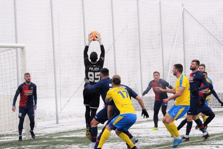 Az első mérkőzés - A Kazincbarcika ellen lépett pályára a Spartacus