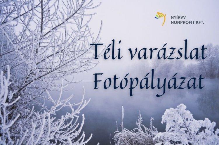 Téli varázslat címmel hirdet fotópályázatot a NYÍRVV Nonprofit Kft.