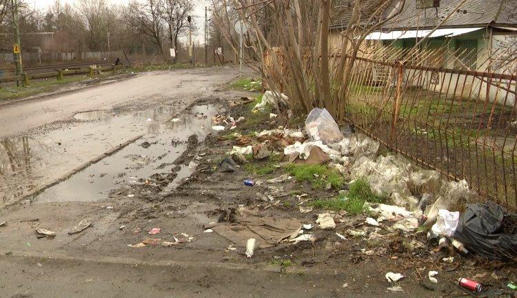 Felszámolják a hulladéklerakót – Megtisztul a Sirály és Acél utca közötti terület