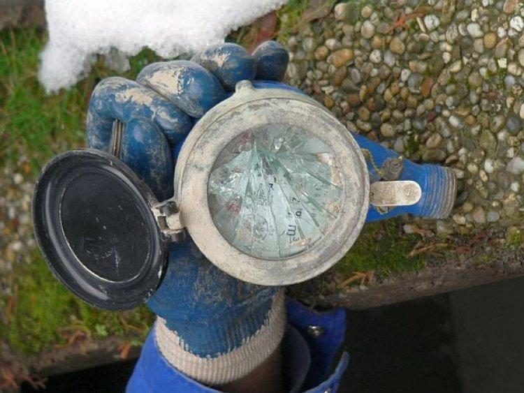 Védeni kell a vízórákat – Fagykár esetén 21 ezer forintot fizet a felhasználó