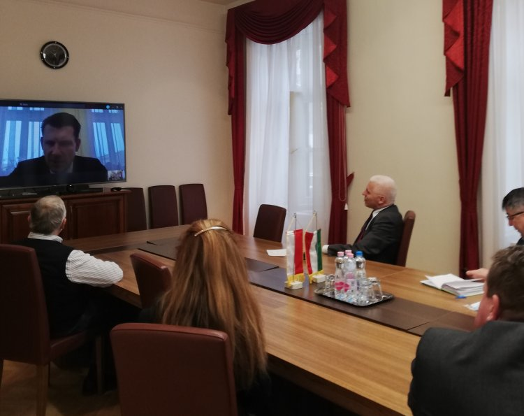 Online polgármesteri egyeztetés – Jól működő kapcsolatok a járványhelyzet alatt is