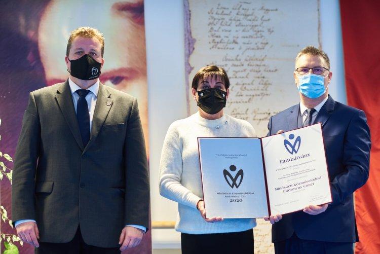 A kultúra mi magunk vagyunk – Kitüntetés a Váci Mihály Kulturális Központnak