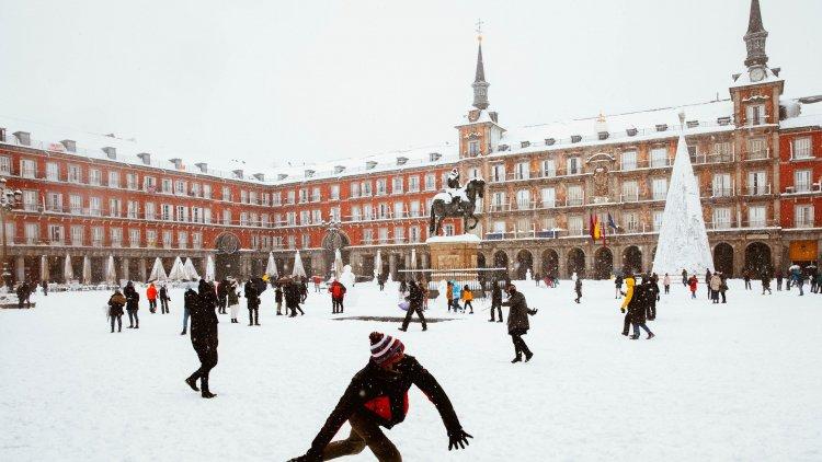 Havazás Madridban! A nyíregyházi Mónika testközelből látta a spanyolok reakcióit