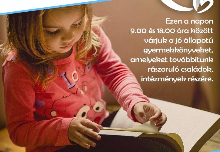 Tegyük szebbé közösen a gyerekek estéit! - Nemzetközi Könyvajándék Nap