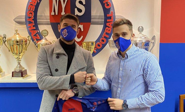 Támadó érkezett - Új játékost igazolt a Nyíregyháza Spartacus