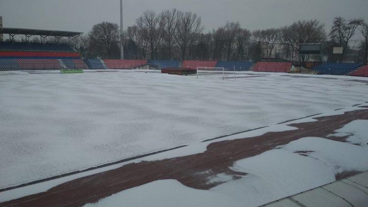 Befedte a hó a stadiont is - Vasárnap a DEAC ellen lép pályára a Nyíregyháza Spartacus