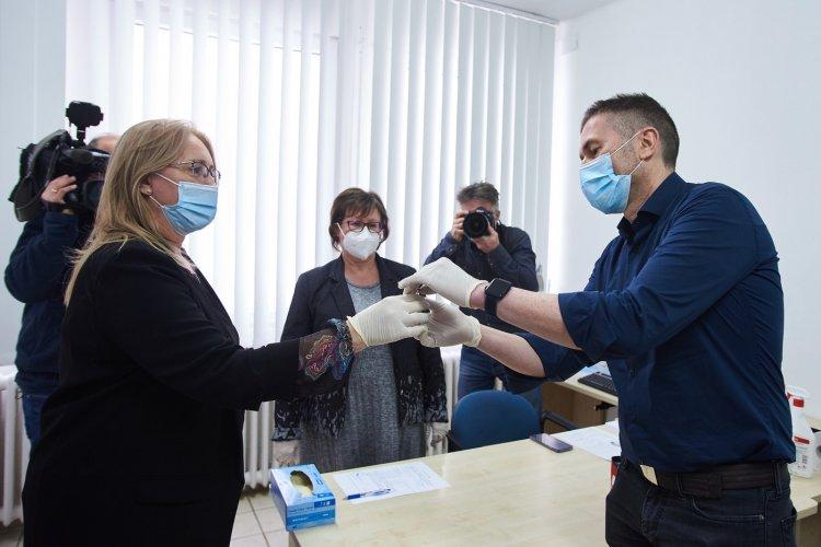 Folytatódik az ütemezett oltás Szabolcs-Szatmár-Beregben