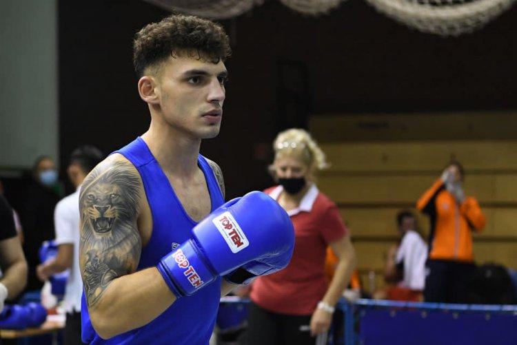 Kovács Richárd aranyérmes - A nyíregyházi ökölvívó győzött Debrecenben