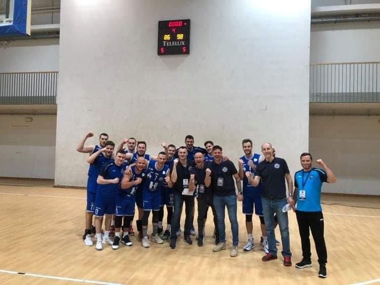 Kupagyőztes kosarasok - Megnyerte a Hepp-kupát a Hübner Nyíregyháza BS