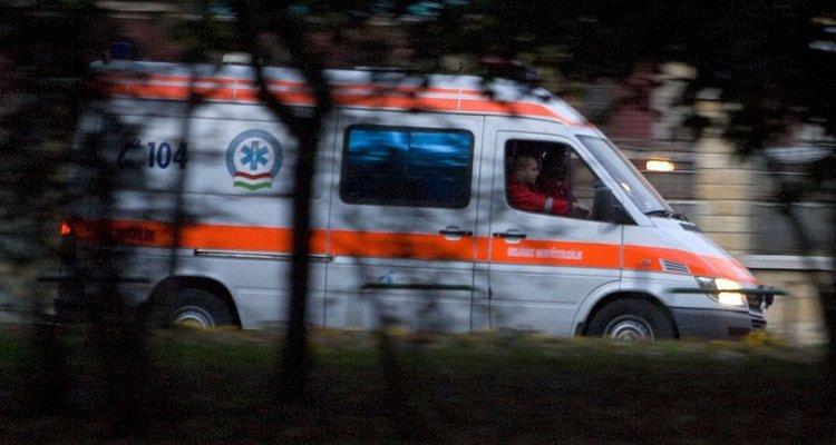 Két személygépkocsi ütközött vasárnap Nyírmeggyes és Nyírcsászári között