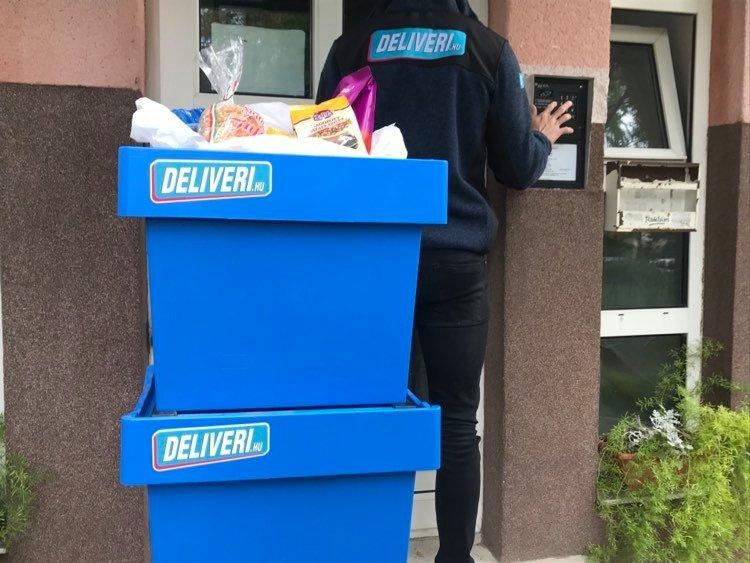 Elindult a Deliveri.hu online élelmiszer házhozszállítási szolgáltatása Nyíregyházán!