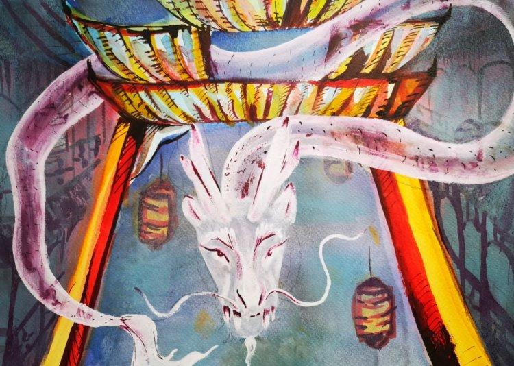 Sárkány, lampion és pagoda a festővásznon – Festősiker Kínában