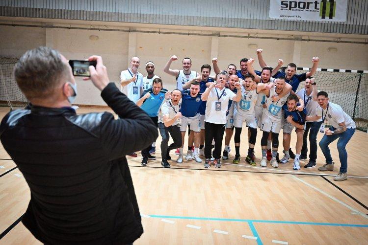 Már reggel éreztem, hogy nyerni fogunk - Hepp-kupa győztes a férfi kosárlabda együttes!