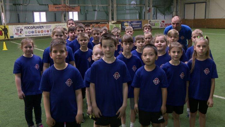 Tesiórát tartott a Szpari - A gyerekek nagyon élvezték a különleges foglalkozást
