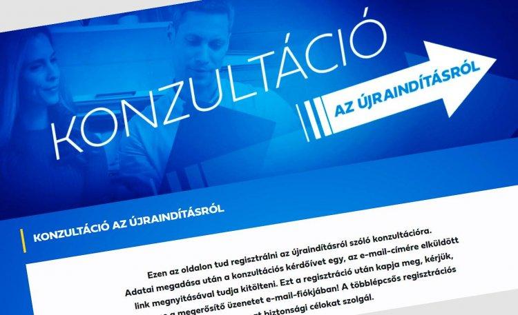 Elérhető a konzultáció – Az újranyitásról kéri ki a lakosság véleményét a kormány