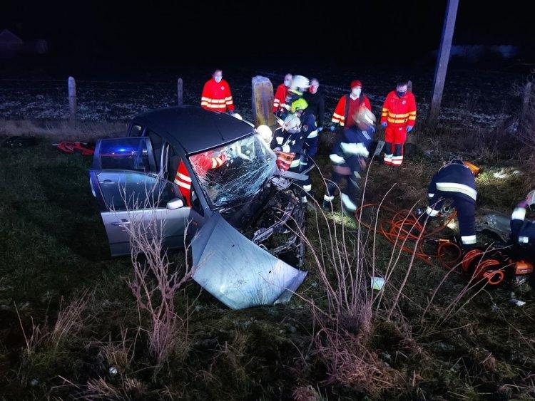 Halálos baleset történt csütörtök este a 38-as számú főúton, Nyírtelek térségében