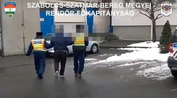 Nemzetközi elfogatóparancs volt érvényben a nyírcsaholyi férfi ellen, a rendőrök elfogták