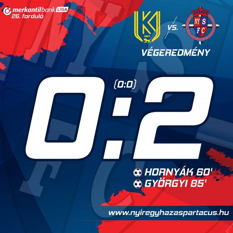 Zsinórban a harmadik győzelem - Kazincbarcikán is nyert a Szpari