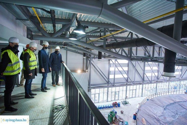 Hamarosan kész az Atlétikai Centrum – Egyedülálló sportkomplexum épült Nyíregyházán