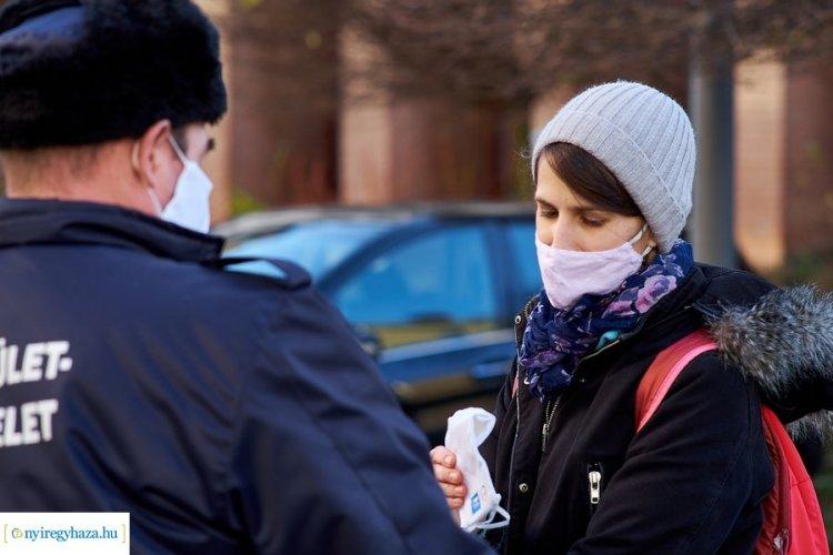 Március 16-ig meghosszabbították a maszkviselésre vonatkozó rendeletet Nyíregyházán
