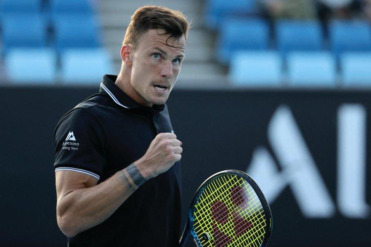 Fucsovics Márton az elődöntőben - A nyíregyházi teniszező két szettben győzött
