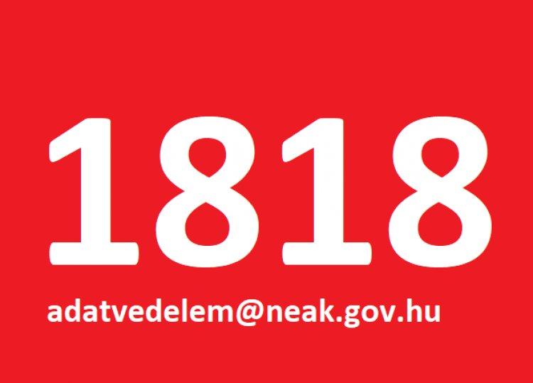 Koronavírus Sajtóközpont: a 1818-as telefonszámon kérhető az adatok pontosítása
