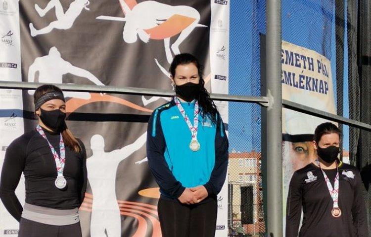 Érmek a Téli Dobó Bajnokságról - Három atlétánk is dobogóra állhatott