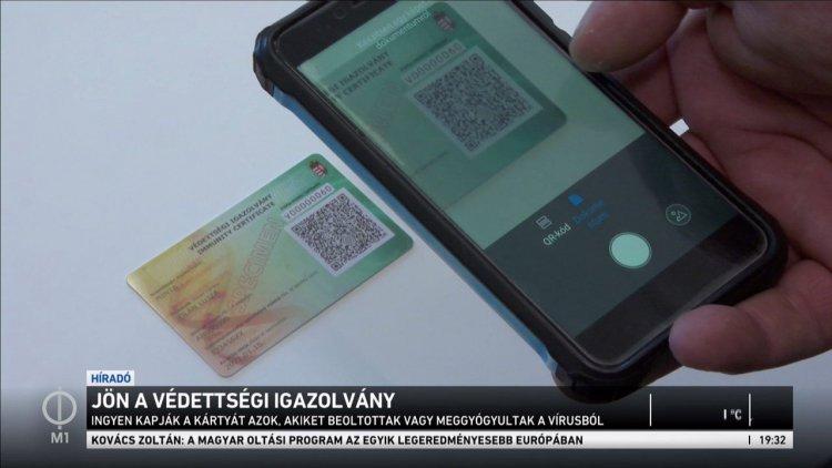 Már készülnek a magyar oltási igazolványok