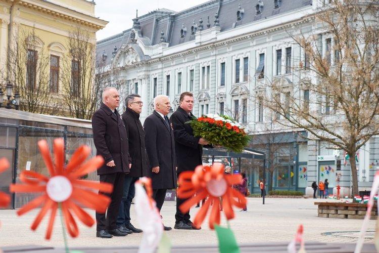 Az önkormányzat ma is sokat tesz a '48-as hősök emlékezetéért