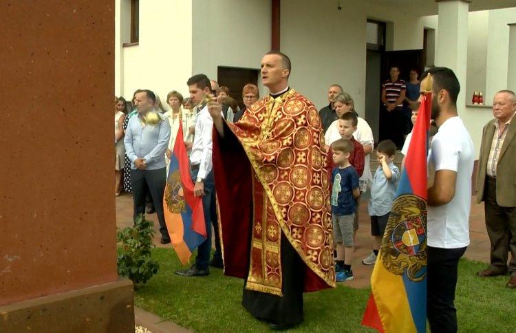 A kitüntetett dr. Papp Tibor, a görögkatolikus egyházmegye főhelynöke