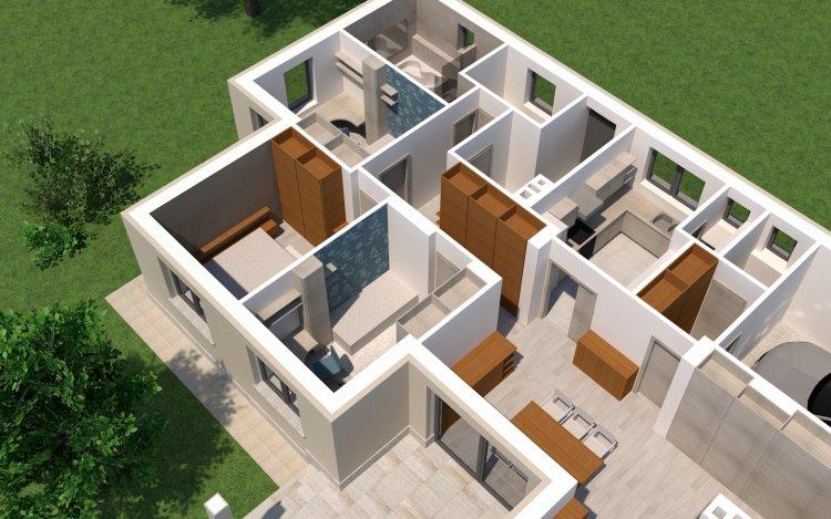 Ingyenesen letölthető tervrajzokkal segítik az építkező családokat