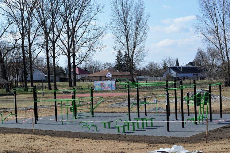 További kilenc szabadtéri sportpark épül Nyíregyházán