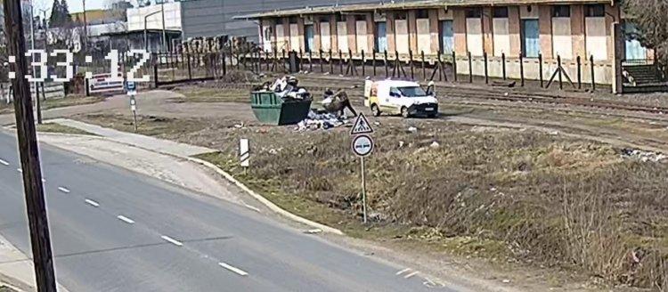Újabb illegális hulladéklerakókat rögzített a térfigyelő kamerarendszer