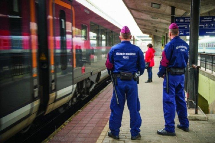 Megkezdődött a rendőrség ellenőrző akciója a vonatokon