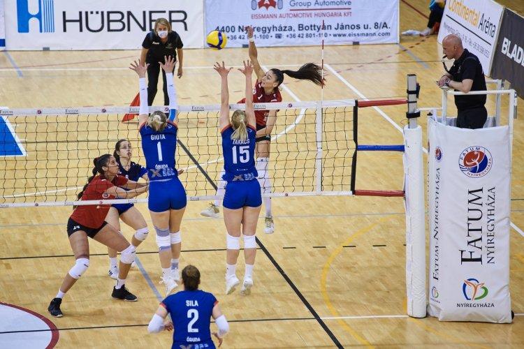 Jöhet a döntő - A harmadik meccset is megnyerte a Vasas ellen a Nyíregyháza