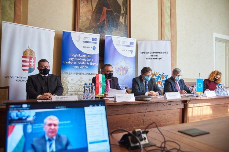 Online Fórum: foglalkoztatási együttműködések Szabolcs-Szatmár-Bereg megyében