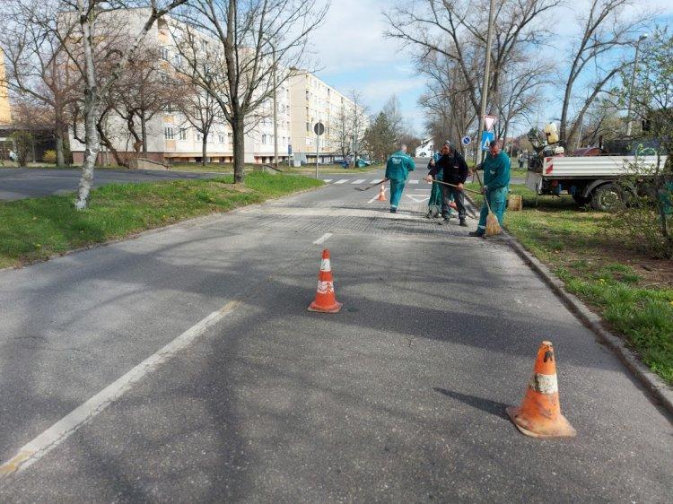 Helyreállítási munkálatokat végeztek a Jósavárosban