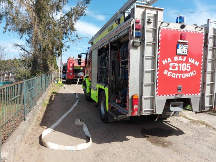 A Nárcisz utcára riasztották a tűzoltókat hétfő délelőtt