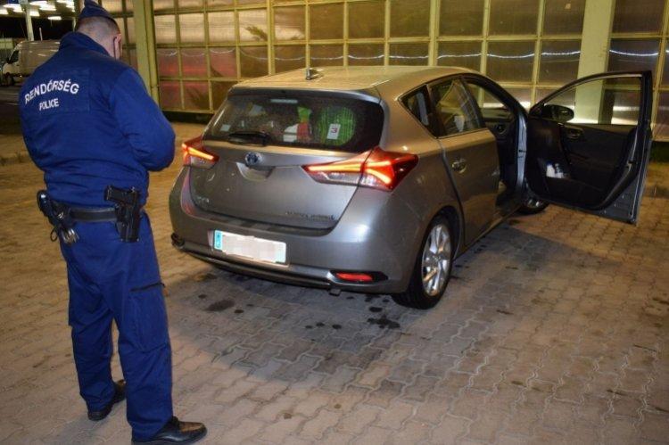 Körözött gépkocsi Csengersimán – Francia hatóság körözte, a magyar rendőrök lefoglalták