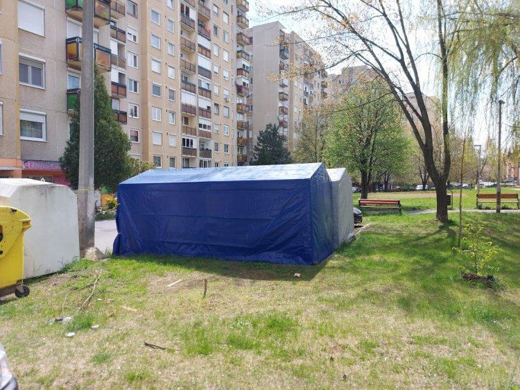 Április 15-én lejárt a sátorgarázsok közterületi bérleti engedélye